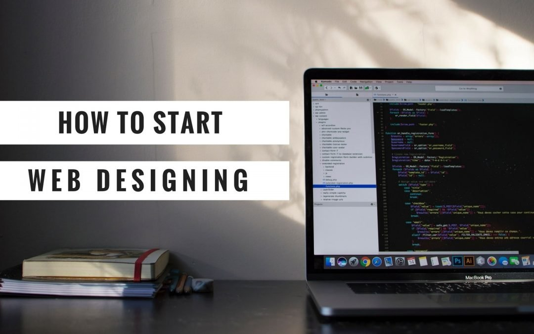 How to start Web Designing